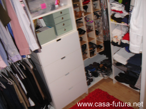 5 dormitorio principal walk in closet for Modelos de walk in closet