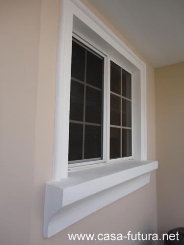 Molduras en ventanas - Molduras para ventanas exteriores casas ...