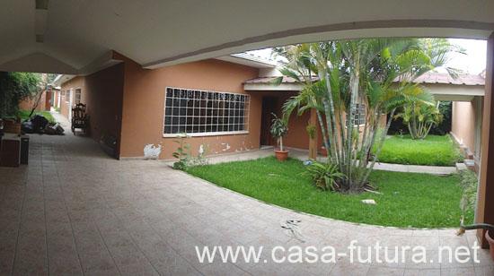 2 garaje y jardin frontal for Galpon de madera para jardin