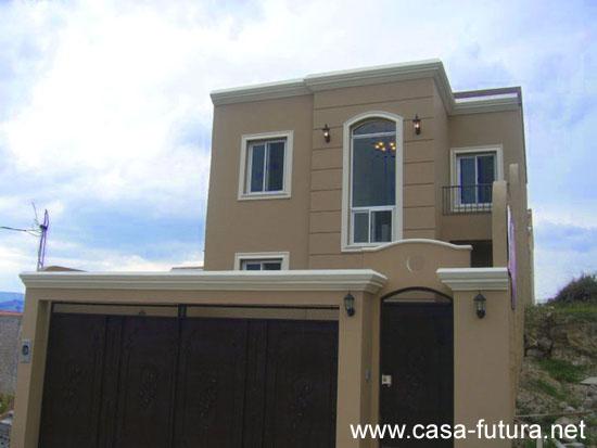 1 fachada 1 for Fachadas de casas con porton