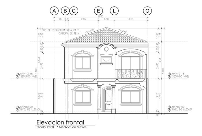 Casas en pre venta col la cascada tegucigalpa vea fotos aqui for Fachadas frontales para casas